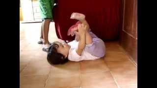 Melina dançando quadradinho de oito !!