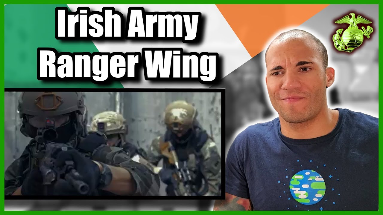 US Marine Reacts to the Irish Army Ranger Wing