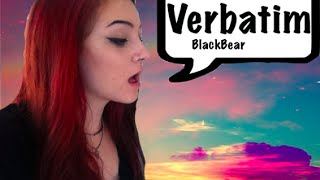 Verbatim - Blackbear cover