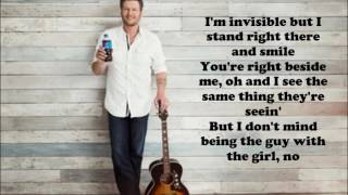 Blake Shelton - A Guy with a Girl (Lyrics)