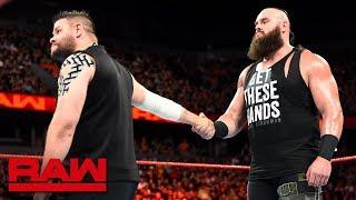 Kevin Owens attempts to befriend Braun Strowman: Raw, June 18, 2018 width=