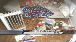 5 Children Removed from Filthy Home