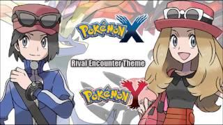 Pokémon X/Y -  Xavier/Yvonne Encounter Music HD (Official)