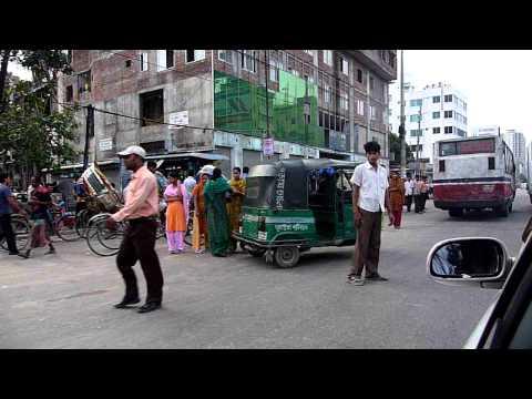 Travelling Through Dhaka City, Bangladesh Cricket World Cup 2011