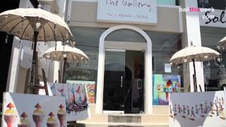 The Gallery Bali Art Shops Official Clip BTW