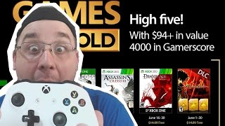 GAMES WITH GOLD JUNHO 2017 !