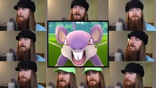 Pokemon GO - Battle! Wild Pokémon Acapella