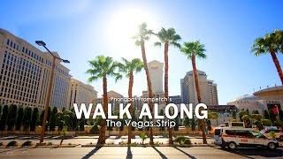 Walking Along the Strip : Las Vegas