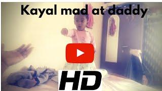 Cute baby mad at daddy || Kayalvizhi || HD