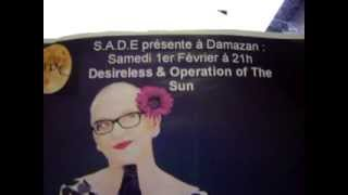 Aperçu live Desireless & Operation of the Sun, concert by S.A.D.E.