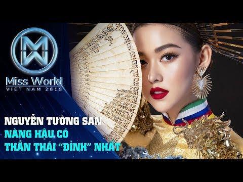 Top 8 Miss International 2019 Nguyễn Tường San Nàng Hậu có thần thái siêu đỉnh