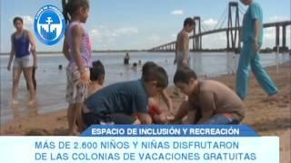 MÁS DE 2 600 NIÑOS Y NIÑAS DISFRUTARON DE LAS COLONIAS DE VACACIONES GRATUITAS