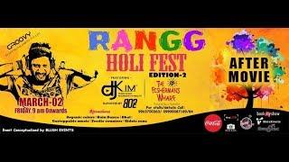 DJ Kim - RANGG HOLI FEST 2018 (After Movie) @ The Fisherman's Wharf, Gachibowli, (Hyderabad)