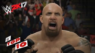 WWE 2K17 Top 10 movimientos de Bill Goldberg