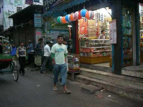 Bangladesh: Hindu Street in Old Dhaka オールドダッカのヒンズー通り