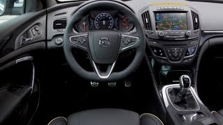 !NEW! Opel Insignia MY 2014 - Interior Design & Infotainment Highlights !LIVE! Shots (Full HD)