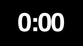 1 minute audio-video timer (with beeps every 1 and 10 seconds)