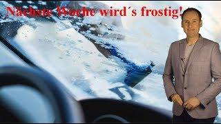 Neue Frostluft im Anmarsch: Hier wird es nächste Woche eisig! (Mod.: Dominik Jung)