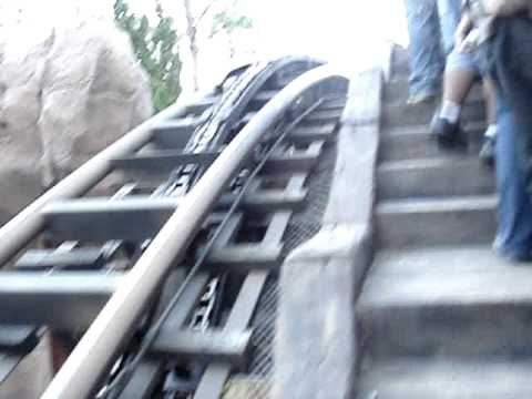 Going up Expedition Everest