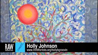 Holly Johnson at RAW:Tulsa Mosaic  - March 27, 2014