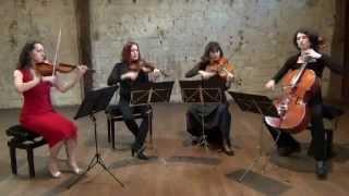 La Rejouissance by Handel - Firebyrds Quartet Wedding Music in France