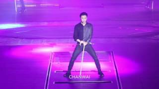 170212 Artificial Love Fancam (Lay focus) @ The Exo'rdium in Hong Kong