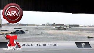 Puerto Rico incomunicado tras paso del huracán María | Al Rojo Vivo | Telemundo