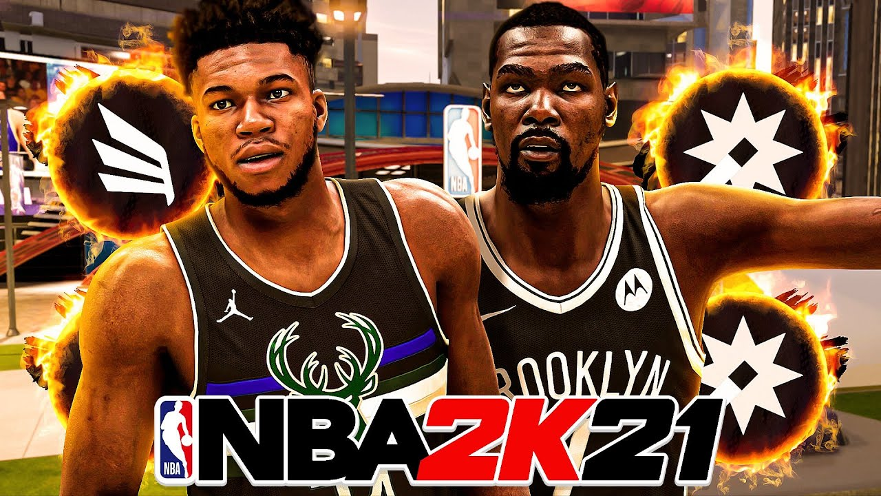 Dignify2K - *NEW* NBA 2K21 UPDATE TRANSFORMED MY GIANNIS ANTETOKOUNMPO and KEVIN DURANT BUILD