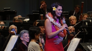 """How Far I'll Go"" - Moana (Live) - Auli'i Cravalho (First Performance, One Week before Oscars)"