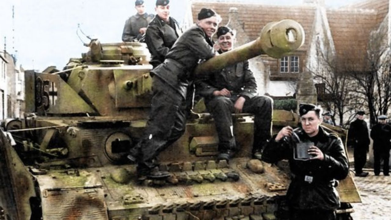 Panzer & Crew & Troops – Rare Archive Footage