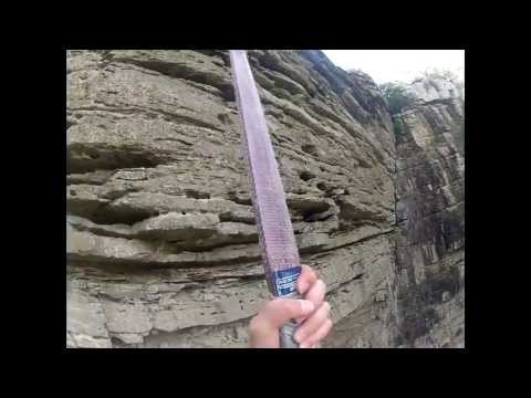 GoPro: Oribi Gorge Bungi with Hero 2.