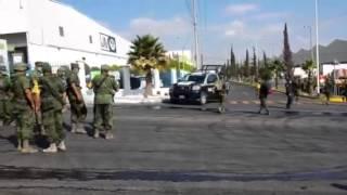 Llega el ejército al incendio en el Parque Industrial BQ