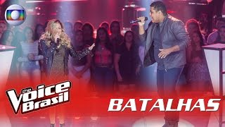 Danilo Franco e Nanda Loren cantam 'Blecaute' nas Batalhas - 'The Voice Brasil' | 5ª Temporada