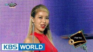 Wonder Girls (원더걸스) - Rewind / I Feel You [Music Bank COMEBACK / 2015.08.22] width=