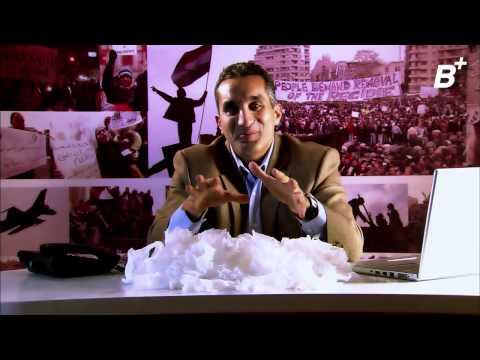 B+ Episode  5 - باسم يوسف شو (مع تامر من غمرة) الحلقة  ٥