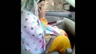 PathaN Girl iN the Car width=