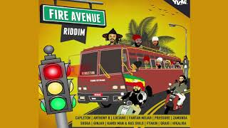 Fire Avenue Riddim ►JUNE 2018► Capleton,Luciano,Anthony B,Fantan Mojah & more (Young Veterans) width=