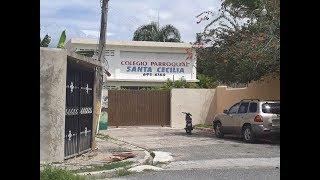 Suspendido sacerdote era director colegio Santa Cecilia; residentes valoran coerción