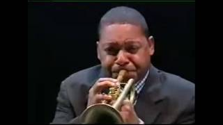 Portrait of Louis Armstrong -  Wynton Marsalis