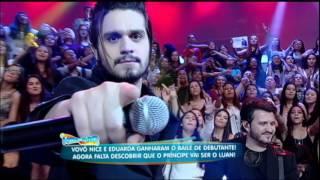 Luan Santana canta Chuva de Arroz