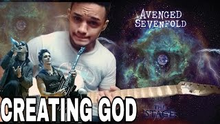 CREATING GOD SOLO(Avenged Sevenfold)Cover NEW SONG 2016 NEW ALBUM STAGE(LESSON IN MY CHANNEL)