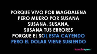 Karaoke Magdalena (Los NSQ y NSC) COMPLETO HD