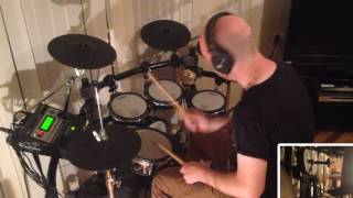 Alison Moyet - Is This Love (Roland TD-12 Drum Cover)