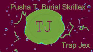 SKRILLEX (Pusha T  Burial Skrillex  Trollphace Remix)
