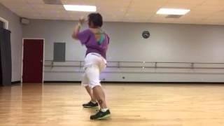 """Kung Fu Fighting"" Fatboy Slim version dance fitness choreo"