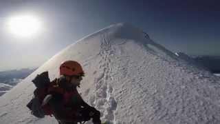Climbing Mount Garibaldi, Squamish with GoPro