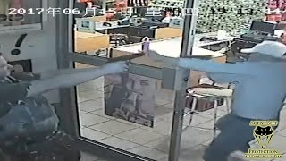 Officer Confronts Five Armed Robbers | Active Self Protection