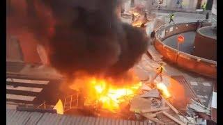 Acte XIV des gilets jaunes, Lyon, 16/02/2019, De gros débordements, des personnalités et casseurs