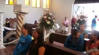 Lomita De Aceves Gto - las mananitas a la virgen.