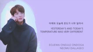BTS Jungkook - 'Contrail (비행운)' (Cover) [Han|Rom|Eng lyrics]